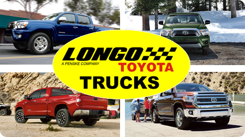 Longo Toyota Trucks