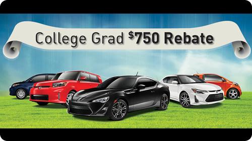 College Grad $750 Rebate