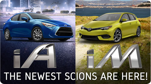 Meet the all-new Scion iA and Scion iM - At Longo Scion NOW!