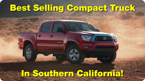 Toyota Tacoma - The best-selling compact truck in Southern California