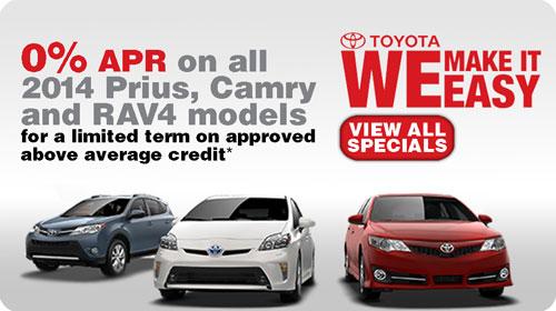 Toyota: We Make It Easy.