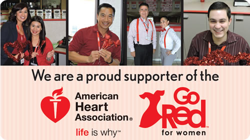 Longo is a proud supporter of the American Heart Association's fight against heart disease.