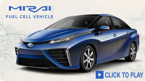 Mirai: Toyota's Fuel cell Vehicle
