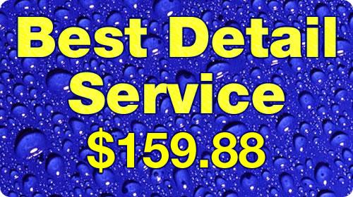 Best Detail Service $159.88