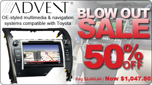 Advent Navigation System Blowout
