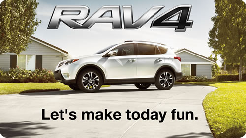 Let's make today fun! - The 2015 RAV4