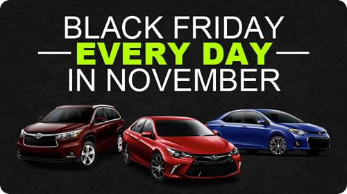 Black Friday Every Day in November