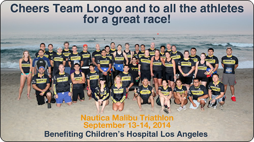 Team Longo at the Nautica Malibu Triathlon