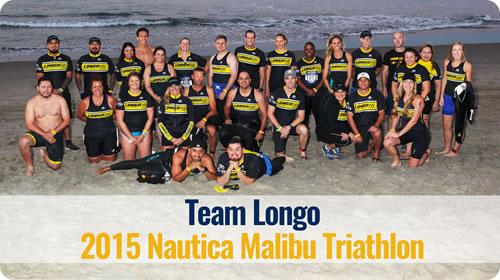 Team Longo and the Nautica Malibu Triathlon